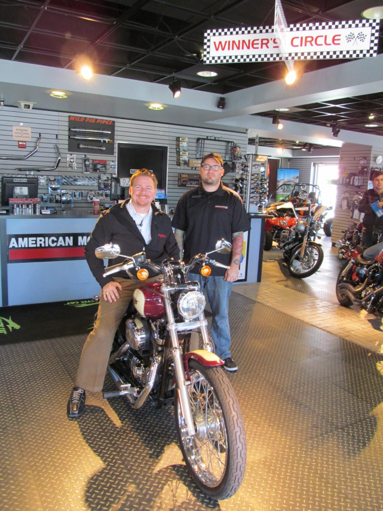Brad sold another fine used motorcycle - 2007 Harley Sportster XL1200C