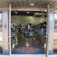 Texas Best Used Motorcycles entrance - Click to visit our website.