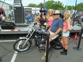 Sportster winner with Hardtails & High Heels Girls