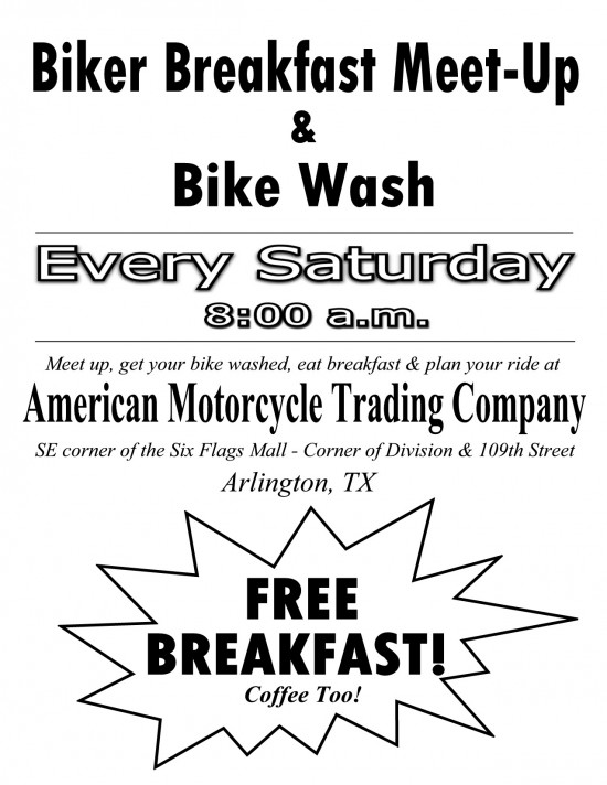 Biker Breakfast Meet-Up